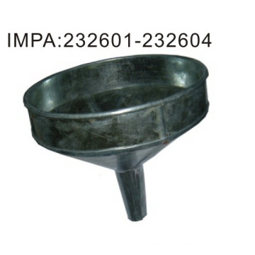 Galvanized Oil Funnels